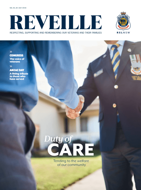 RSL NSW Reveille July 2018