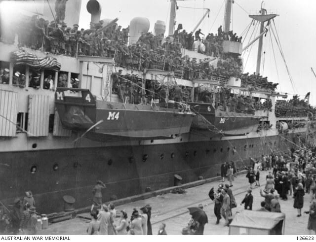 British Commonwealth Occupation Force - Credit Australian War Memorial