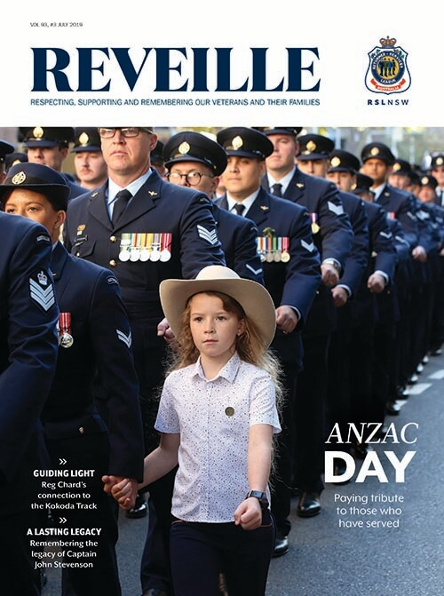 Reveille July 2019 Cover