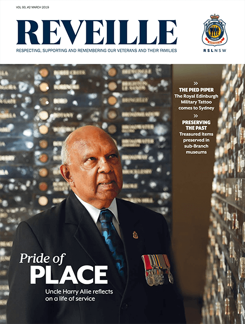 Reveille March 2019 Cover