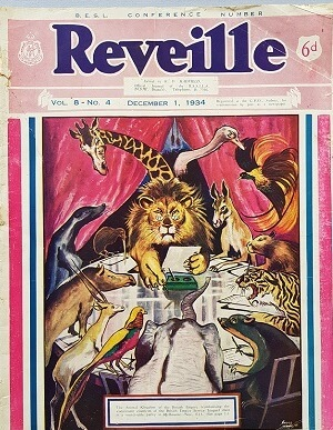 Reveille - Vol 8 No 4 - 1 December 1934
