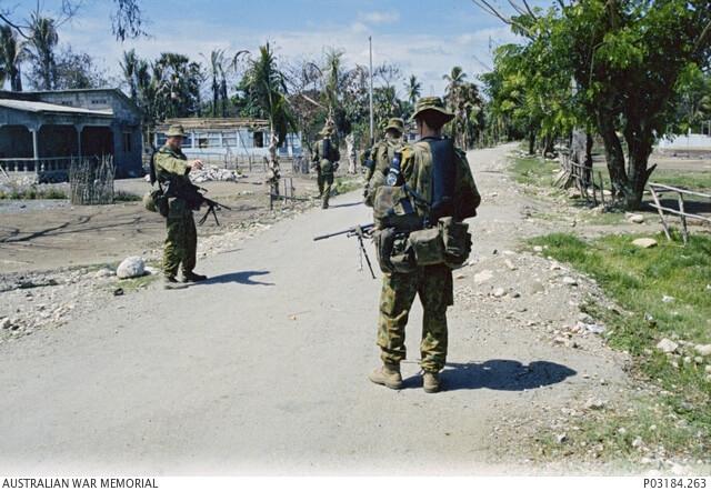 Peacekeeping East Timor - Credit Australian War Memorial