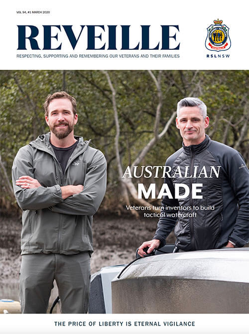 Reveille March 2020 Cover